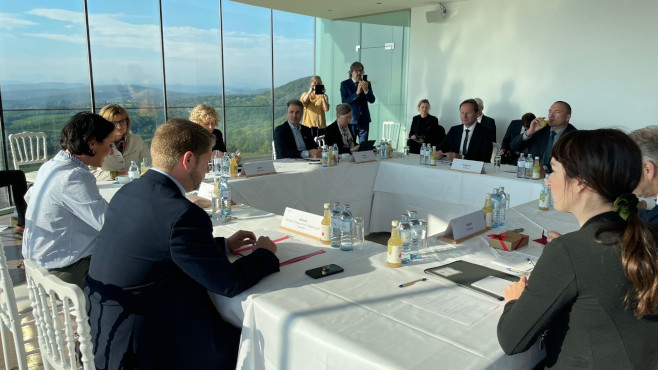 Photo from the Wien-discussion
